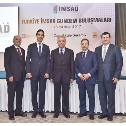 Türkiye İMSAD'ın yılda dört kez çeyrek periyotlarda düzenlediği Gündem Buluşmaları kapsamında gerçekleştirilen 2017 yılının ikinci toplantısı, 16 Haziran Cuma günü Ortaköy Feriye Lokantası'nda yapıldı.
