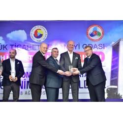 Türkiye ve Bozüyük ekonomisine değer katan DemirDöküm'e 2 ödül birden verildi