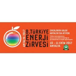 Türkiye Enerji Zirvesi'nin sekizincisi bu yıl 10 -11 Ekim 2017 tarihleri arasında Antalya Regnum Carya Golf & Spa Resort Otel'de düzenlenecektir.