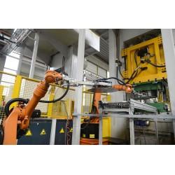 Düzce, Nema Winkelmann fabrikasında tam otomasyon ile desteklenmiş robotik sistemler ile üretim yapılıyor