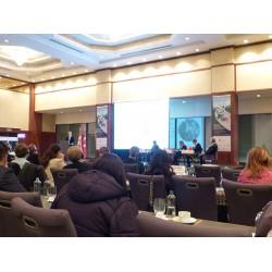 Danimarka Enerji, Binalar ve İklim Bakanlığı, TC Enerji ve Tabi Kaynaklar Bakanlığı, Türkiye Jeotermal Kaynaklı Belediyeler Birliği (JKBB), DEİK, TÜRKOTED tarafından desteklenen Konferans