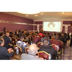 Ferroli Türkiye Genel Müdürü Elçin Tunçer sunum sırasında