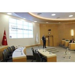 TERMİK SANTRALLERDE YERLİLEŞME PLATFORMU Çalıştayları Sonuç Bildirgesi KBSB Başkanı tarafından sunuldu