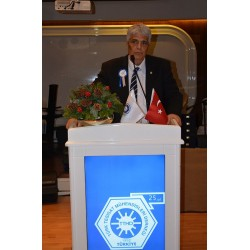 ISKAV adına Vural Eroğlu, (Merhum 28 Aralık 2017 günü ebediyete uğurlandı)