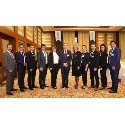 FORM'un Bursa Sheraton Otel'de organize ettiği yemek