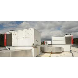 Yüksek performanslı LENNOX paket klimalar ve MITSUBISHI HEAVY klima sistemleri