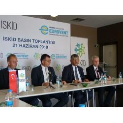 İSKİD Basın Toplantısında, 21 Haziran 2018 Taksim Point Hotel İstanbul