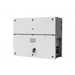 Gelişmiş ABB Ability™ becerileriyle donatılmış 3-Fazlı PVS-175-TL, 800 Vac'de 185 kVA ve 1,3 kW/kg ultra yüksek güç yoğunluğu sunar.
