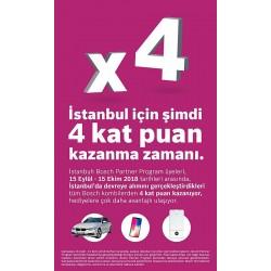 Bosch Partner Program,  İstanbul'da 4 Kat Puan Kampanyası başlattı
