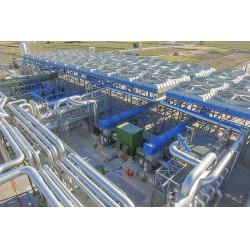 Bugün Türkiye'deki 13 jeotermal enerji santralinde EXERGY'nin 26 adet türbini, 26 adet egzoz sistemi, 15 adet yağlama sistemi, 13 hız kontrol sistemi ve 1 adet jeneratörü yerli üretim sertifikası ile çalışıyor