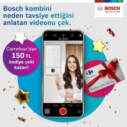 Bosch Kombi Tavsiye Kampanyası